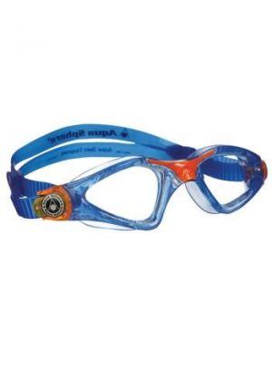 AQUA SPHERE - occhialini Kayenne jr per nuoto - blu lenti trasparenti