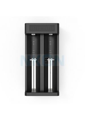 ZEBRA LIGHT - Carica batteria 2 slot XTAR MC2 PLUS