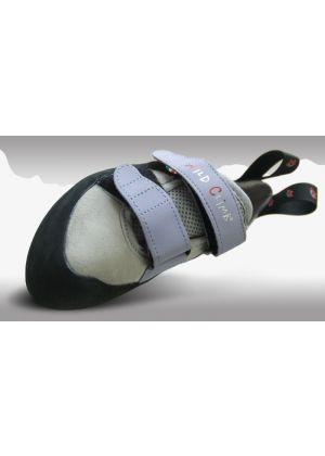 WILD CLIMB - Scarpetta arrampicata con velcro totalmente micro fibra Bat Lady - tg. 35 1/2