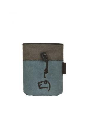 E9 - Sacchetto porta magnesite con cintura Aglio - Sage green