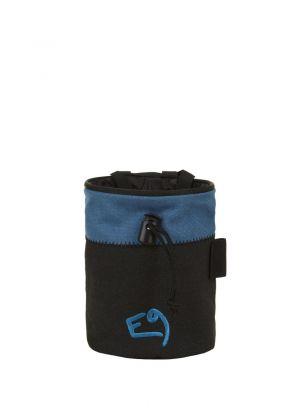 E9 - Sacchetto porta magnesite con cintura Aglio - Antracite