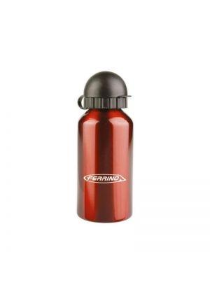 FERRINO - Boraccia in alluminio con tappo scatto a suzione Grind Kid 400 ml - Rosso