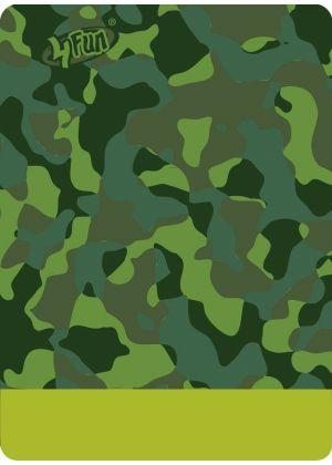 4FUN - Scalda collo scarf 8 in 1 in Polartec e Micro fibra - colore Camu Green