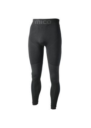 MICO - Calzamaglia uomo lunga in Primaloft Underwear Super Thermo - Nero