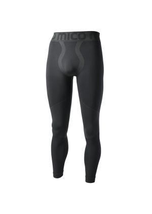 MICO - Calzamaglia uomo lunga Skintech Underwear Warm Control - Nero