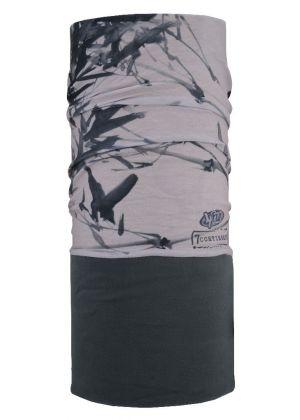 4FUN - Scalda collo scarf 8 in 1 in Polartec e Micro fibra - colore Bamboo