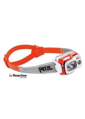PETZL - Lampada frontale 900 lumens Swift RL - Arancio