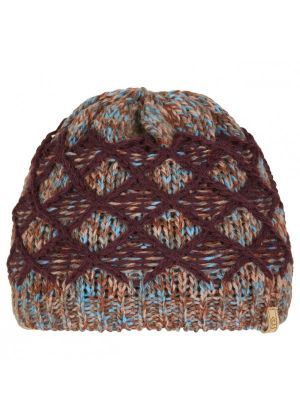 E9 - Cappello lana lavorazione maglia interno pile Opus - Viola