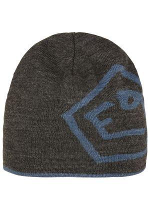 E9 - Cappello in lana double face con logo T - Iron