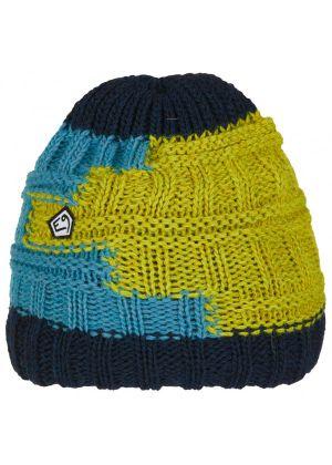 E9 - Cappello lana maglia grosso interno pile Texturhead - Olive