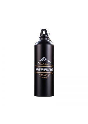 FERRINO - Borraccia in alluminio colorata Pure 750 ml - Nero