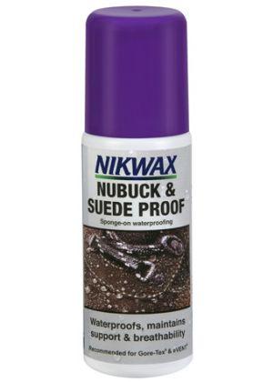 NIKWAX - Impermeabilizzante spray per scarpe Nubuck e Camoscio 125 ml