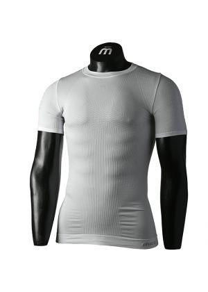 MICO - Maglia uomo girocollo 4 stagioni Extra Dry Skintech Underwear - Bianco