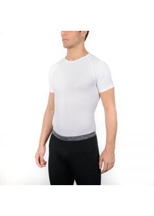 MICO - Maglia uomo girocollo 4 stagioni Light Skintech - Bianco