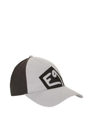 E9 - Cappello con visiera rigida Jim - Grigio