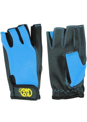 KONG - Guanto per ferrata palmo rinforzato senza dite Pop Gloves