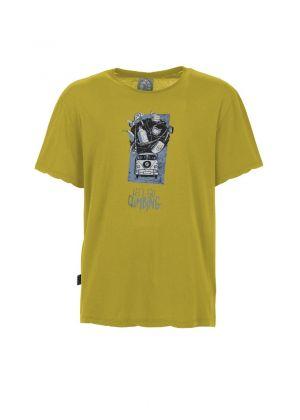 E9 - T-Shirt uomo manica corta in cotone Lez - Olive
