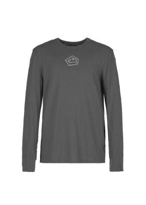 E9 - T-Shirt uomo manica lunga in lino Lino - Iron