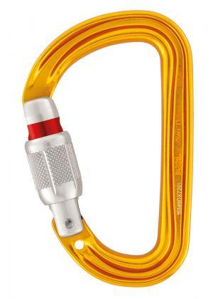 PETZL - Moschettone assi metrico con ghiera SM'D Screw Lock