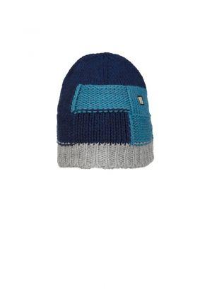 E9 - Cappello in lana maglia grossa Squarhead - Dust