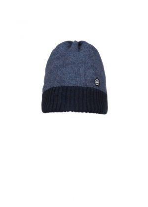 E9 - Cappello in lana Forhead - Blu