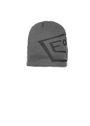 E9 - Cappello in lana con logo T - Grigio