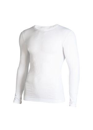 MICO - Maglia intima uomo girocollo Active Skintech - Bianco