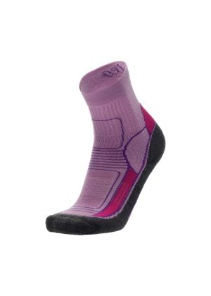 MICO - Calza outdoor leggera corta in Everdry Woman - Rosa