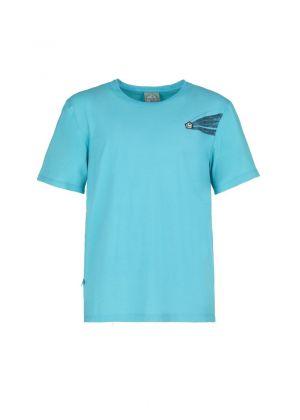 E9 - T-Shirt uomo manica corta in cotone Moveone2.1 - Emerald