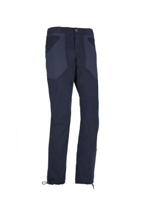 E9 - Pantalone uomo in cotone leggero N Ananas - Blue Navy