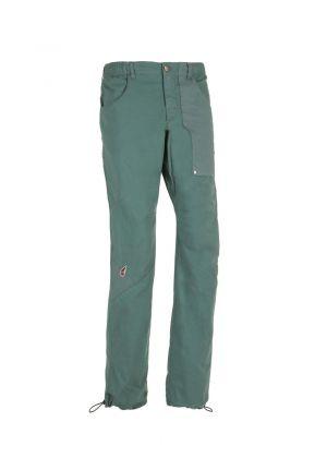 E9 - Pantalone uomo in cotone leggero arrampicata e palestra N Fuoco - Sage Green