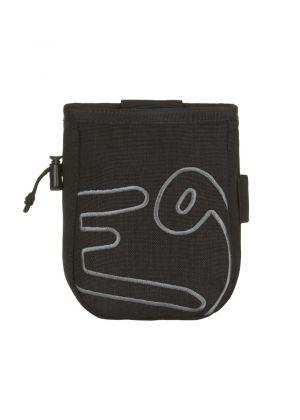 E9 - Porta magnesite con cintura Osso - Nero