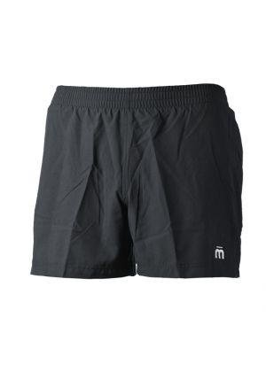 MICO - Pantalone uomo corto per la corsa con slip interno - Nero