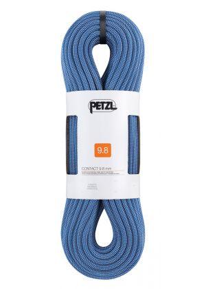 PETZL - Corda dinamica intera Contact 9.8 mm - 70 mt - Blu