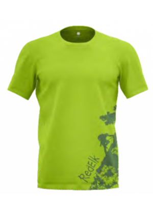 REDELK - T-Shirt uomo in cotone Ermes Climb - Verde