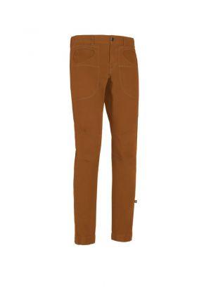 E9 - Pantalone uomo in cotone Rondo Artskin - Tobacco