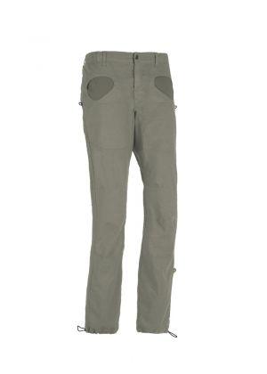 E9 - Pantalone uomo in lino leggero arrampicata e palestra Rondo Flax - Grey