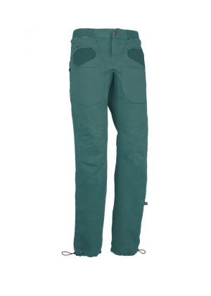 E9 - Pantalone lungo uomo invernale palestra arrampicata Rondo Slim - Verde