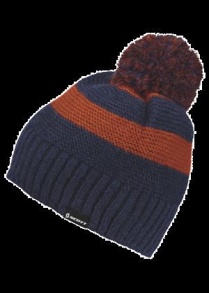 SCOTT - Cappello con pompon lavorazione maglia MTN 20 - Blu