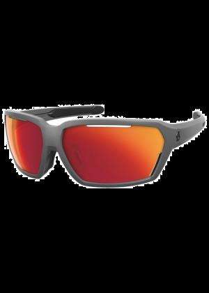 SCOTT - Occhiali da sole tecnico avvolgente Vector categoria S 3 - Grigio lente red