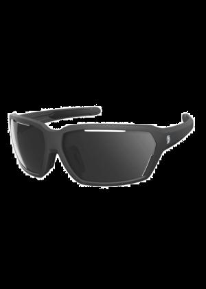 SCOTT - Occhiali da sole tecnico avvolgente Vector categoria S 3 - Nero lente grigia