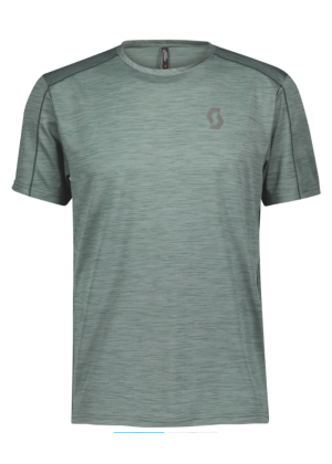 SCOTT - T-Shirt uomo manica corta Trail Run LT - Verde