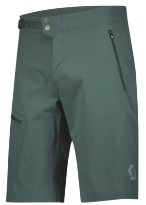SCOTT - Pantalone uomo bermuda Explorair Light - Verde