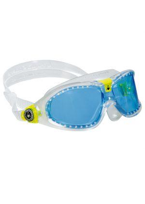 AQUA SPHERE - Occhialini per bambino per nuoto Seal Kid 2 - Trasparente lente blu