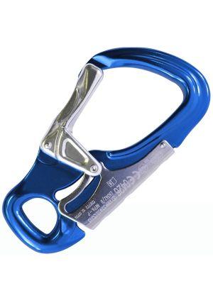 KONG - Moschettone con sicurezza su l'impugnatura Tango - Blu