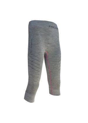 RIDAY - Calza maglia donna 3/4 lana merino Wooltech RDY - Grigio