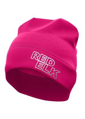 RED ELK - Cappello fleece hat Elk - Viola