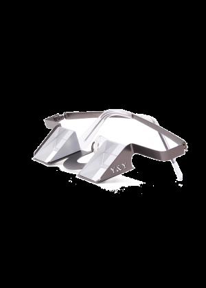 YY VERTICAL - Occhiali da sicura con prisma montatura in alluminio Classic - Grigio