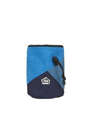 E9 - Porta magnesite con cintura Zucca - Blu